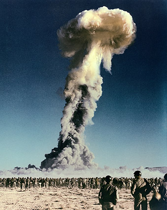 Tumbler-Snapper Nuclear Bomb Nevada Test Photo Print