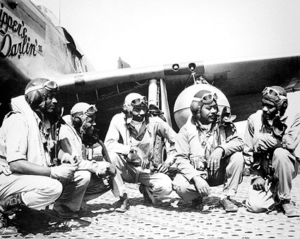 Tuskegee 332nd African American Airmen WWII Photo Print