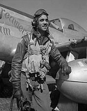Tuskegee Airman Edward C. Gleed Portrait Photo Print for Sale