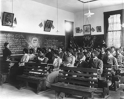 Tuskegee Institute Class, Tuskegee, Alabama Photo Print