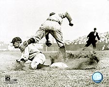 Ty Cobb Slide Detroit Tigers Baseball Photo Print for Sale