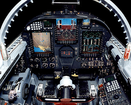 U-2 Cockpit Instrument Panel Photo Print