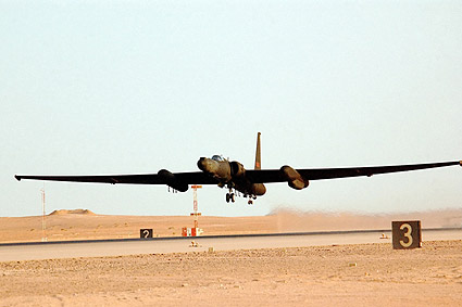 U-2 Dragon Lady Aircraft Take Off Air Force Photo Print