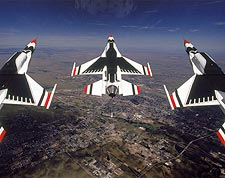 U.S. Air Force Thunderbirds F-16 Loop Photo Print for Sale