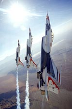 U.S. Air Force Thunderbirds Vertical Photo Print for Sale