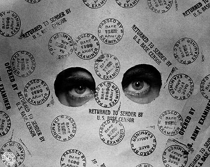 U.S. Base Censor 'Eyes of Censorship' WWII Photo Print
