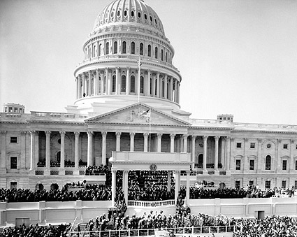 U.S. Capitol President John F. Kennedy JFK Inauguration  Photo Print