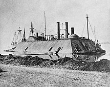 U.S. Civil War Ironclad Gunboat Essex Photo Print for Sale