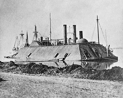 U.S. Civil War Ironclad Gunboat Essex Photo Print
