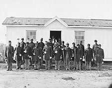 U.S. Colored Infantry Band Civil War 1865 Photo Print for Sale