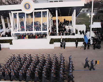 U.S. Military Academy Cadets at Inaugural Parade 2009 Photo Print