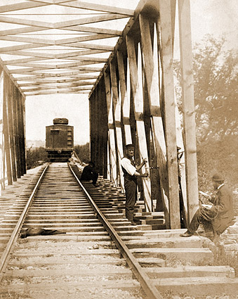 U.S. Military Railroad Operations Civil War Photo Print