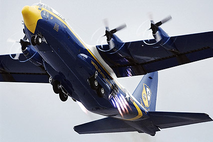 U.S. Navy Blue Angels C-130 'Fat Albert' Photo Print