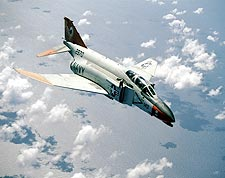 U.S. Navy F-4 Phantom in Flight Photo Print for Sale