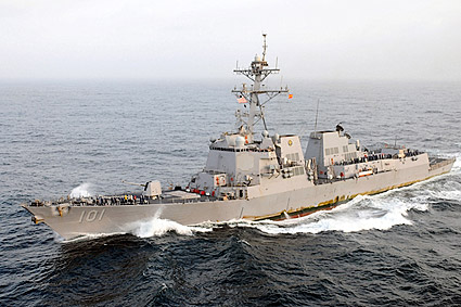 U.S. Navy Guided-Missile Destroyer USS Gridley (DDG 101) Photo Print