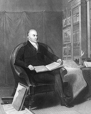 U.S. President John Quincy Adams Portrait Photo Print