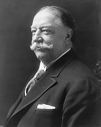 U.S. President William H. Taft Portrait Photo Print