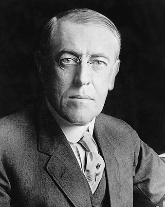 U.S. President Woodrow Wilson Portrait 1916 Photo Print