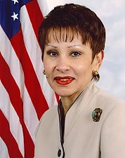 U.S. Representative Nydia Vel�zquez of New York Portrait Photo Print for Sale