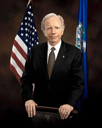 U.S. Senator Joe Lieberman Color Portrait Photo Print