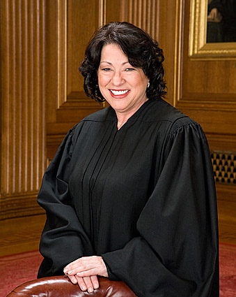 U.S. Supreme Court Justice Sonia Sotomayor Portrait Photo Print