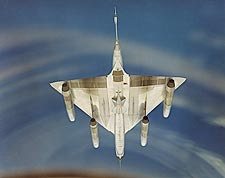 Underside of Convair B-58 Hustler Bomber Photo Print for Sale