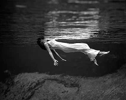 Underwater Model Swimming Toni Frissell Photo Print