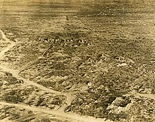 Unidentified Destroyed Village WWI Photo Print for Sale