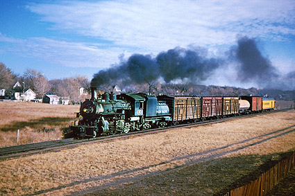 Union Pacific Railroad 2-8-0 Steam Train Photo Print