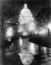 US Capitol Building Washington D.C. 1920 Photo Print