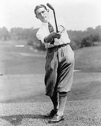 US Golf Winner Tom Armour 1927 Portrait Photo Print