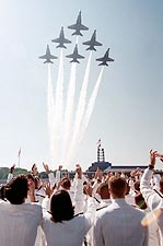US Navy Blue Angels Naval Academy Graduation Photo Print for Sale