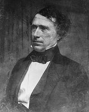 US President Franklin Pierce Portrait Photo Print