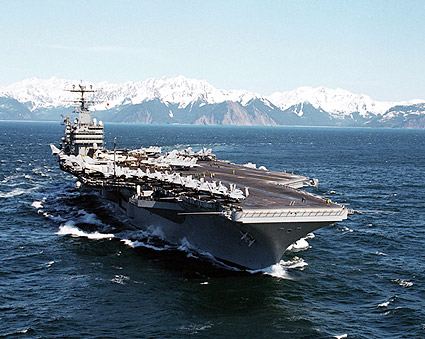 USS Abraham Lincoln Aircraft Carrier Photo Print