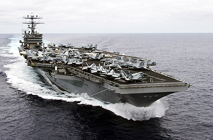 USS Carl Vinson Aircraft Carrier Photo Print