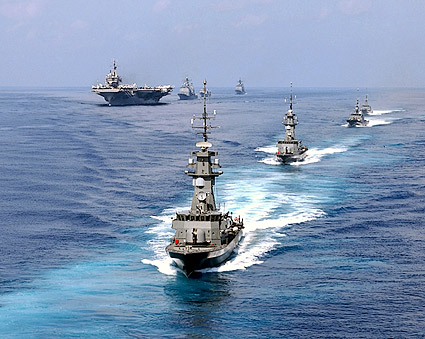 USS Constellation Carrier Battle Group Photo Print