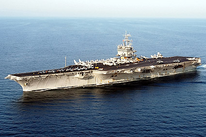 USS Enterprise CVN 65 at Sea Navy Photo Print