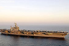 USS George Washington Aircraft Carrier Photo Print for Sale