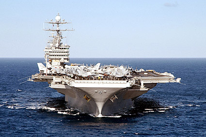 USS Harry S Truman Aircraft Carrier Photo Print