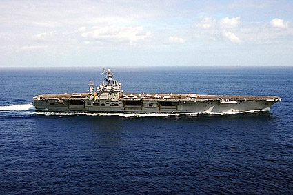 USS Harry S. Truman CVN 75 Aircraft Carrier Photo Print
