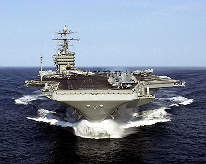 USS Harry S Truman CVN 75 Aircraft Carrier Photo Print