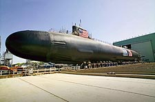 USS Jimmy Carter Nuclear Submarine Photo Print for Sale