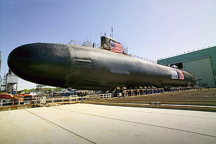 USS Jimmy Carter Nuclear Submarine Photo Print
