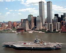 USS John F Kennedy Aircraft Carrier NYC Photo Print