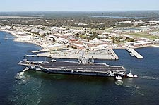 USS John F Kennedy CVN 67 NAS Pensacola Photo Print for Sale