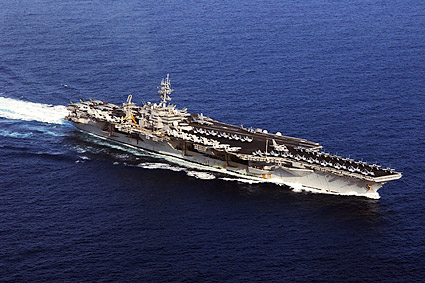 USS Kitty Hawk Aircraft Carrier Photo Print