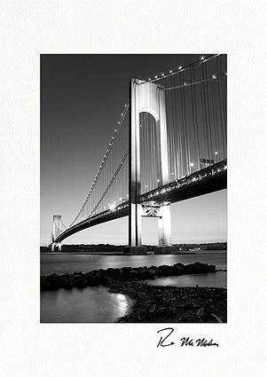 Verrazano-Narrows Bridge, New York City Individual Greeting Cards