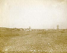 Village of Romagne-sous-Montfaucon, France WWI Photo Print for Sale