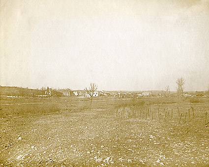 Village of Romagne-sous-Montfaucon, France WWI Photo Print