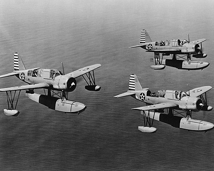 Vought OS2U Kingfisher WWII Aircraft Photo Print